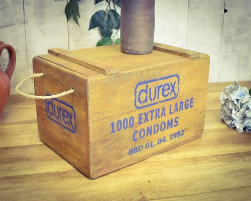 Vintage Chest, 1000 Extra Large Condoms